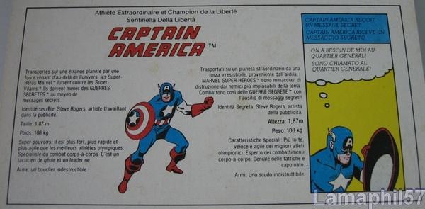 SECRET WARS/Guerres secrètes (Mattel) 1984 - Page 2 Captain_america
