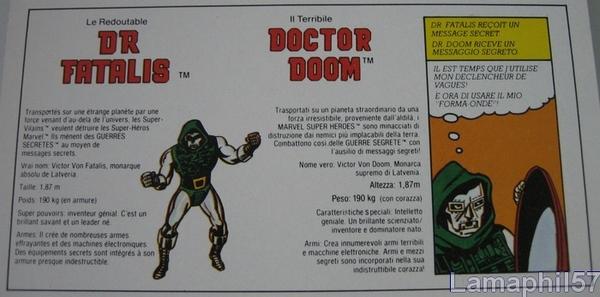 SECRET WARS/Guerres secrètes (Mattel) 1984 - Page 2 Fatalis
