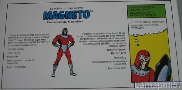 SECRET WARS/Guerres secrètes (Mattel) 1984 - Page 2 Magneto